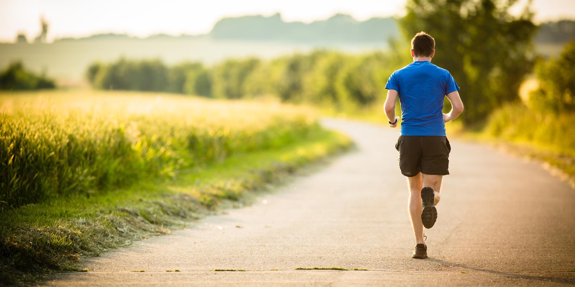 Hardlopen en wielrennen